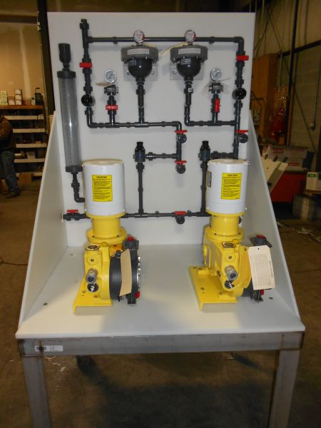 Chemical Feed Skid Fabrication (12)