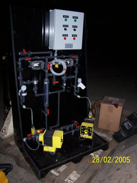 Chemical Feed Skid Fabrication (3)